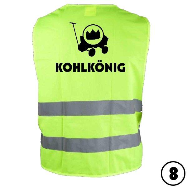 """Warnweste """"Kohlkönig 8"""""""
