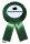 Kohlorden grün Rosette