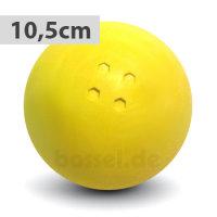 Boßelkugel gummi 10.5cm gelb (Hobby)