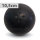 Boßelkugel gummi 10.5cm schwarz (Hobby)