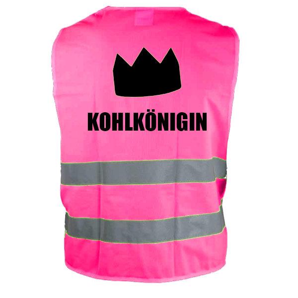 Warnweste Kohlkönigin rosa